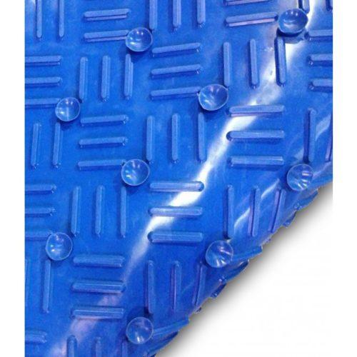 mata antybakteryjna z przyssawkami, mata higieniczna niebieska